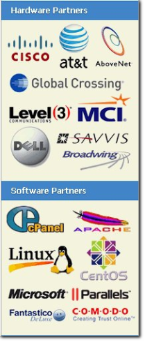 Hardware and Software Partners